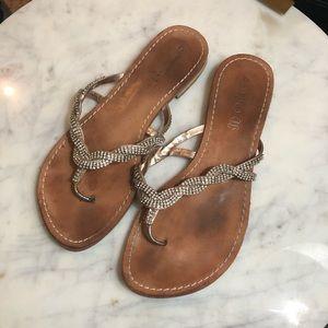 Aldo rhinestone sandals
